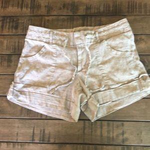 Banana Republic Linen Shorts 8P Very Cute